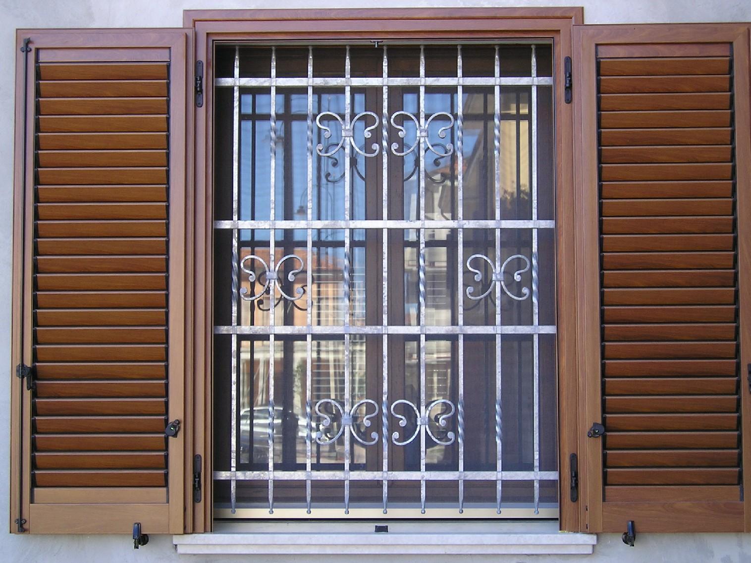 Metal service s r l - Modelli di grate per finestre ...